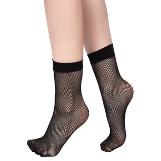 Chaussettes KILLSTAR - COURTNEY FISHNET - NOIR, KILLSTAR