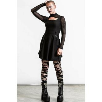 robe pour femme KILLSTAR - crash skater - Noir, KILLSTAR