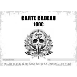 Carte cadeau 100 EUR