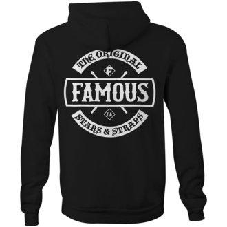 sweat-shirt avec capuche pour hommes - CHAOS - FAMOUS STARS & STRAPS