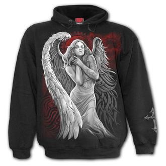 sweat-shirt avec capuche pour hommes - ANGEL DESPAIR - SPIRAL - D083M451