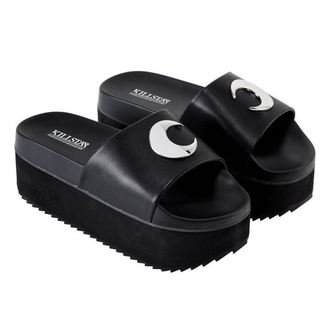 tongs pour femmes - DARK MOON SLIDES - KILLSTAR, KILLSTAR