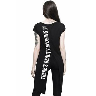 T-shirt pour femmes (tunique) KILLSTAR - Dead Rose - Noir, KILLSTAR