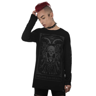 T-shirt unisexe à manches longues KILLSTAR - Deathless Long Sleeve Top, KILLSTAR