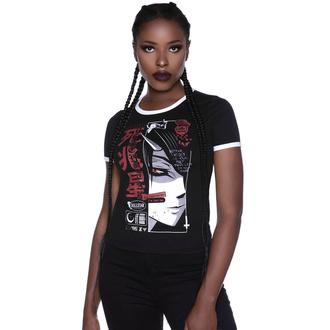 T-shirt pour femmes KILLSTAR - Deathstar Ringer, KILLSTAR