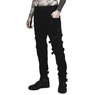 Pantalon homme KILLSTAR - DEATH WISH - NOIR, KILLSTAR