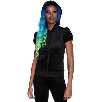 Sweat-shirt pour femme KILLSTAR - Velours Dee-Lux - Noir, KILLSTAR