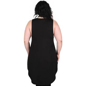 Débardeur pour femmes KILLSTAR - Departed Maxi Vest - Noir, KILLSTAR