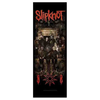 Drapeau Slipknot - Crest, HEART ROCK, Slipknot