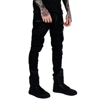 Pantalon (unisexe) KILLSTAR - Diablo Jeans - NOIR, KILLSTAR