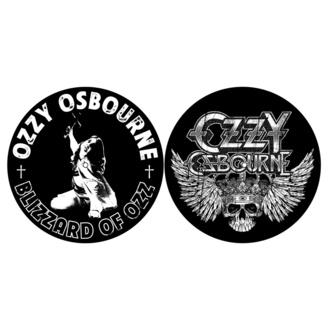 Feutrine pour platines (ensemble 2pcs) OZZY OSBOURNE BLIZZARD OF OZZ / CREST RAZAMATAZ SM048, RAZAMATAZ, Ozzy Osbourne