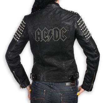 veste en cuir pour femmes AC-DC - BLACK - NNM, NNM, AC-DC