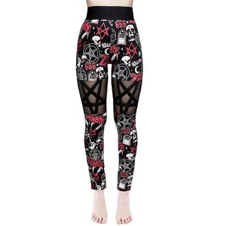 Pantalon pour femmes (leggings) KILLSTAR - ROB ZOMBIE - Sweetheart - NOIR, KILLSTAR, Rob Zombie