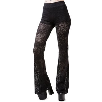 Pantalon femmes KILLSTAR - DREAM ON BELL - NOIR
