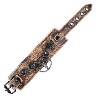 Bracelet Baphomet - brown, JM LEATHER
