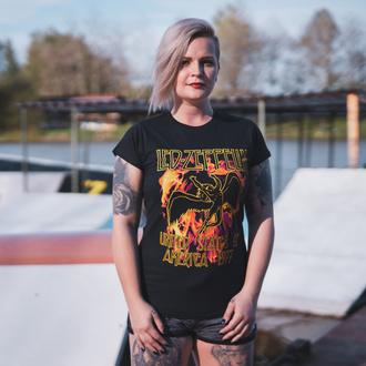 tee-shirt métal pour femmes Led Zeppelin - Black Flames - NNM, NNM, Led Zeppelin