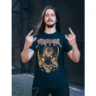 T-shirt Skeletonwitch pour hommes - Blackened Heart - Noir - INDIEMERCH, INDIEMERCH, Skeletonwitch