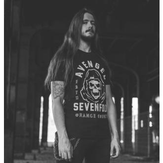 T-shirt Avenged Sevenfold pour hommes - So Grim Orange - ROCK OFF, ROCK OFF, Avenged Sevenfold