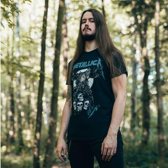 T-shirt Metallica pour hommes - S&M2 Skulls - Noir, NNM, Metallica