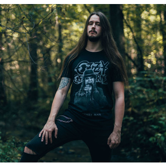 T-shirt pour hommes Ozzy Osbourne - Ordinary Man Snake Rayograph - ROCK OFF, ROCK OFF, Ozzy Osbourne
