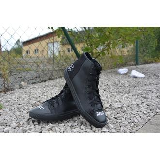 chaussures de tennis montantes unisexe - NEVER KNEEL - DISTURBIA