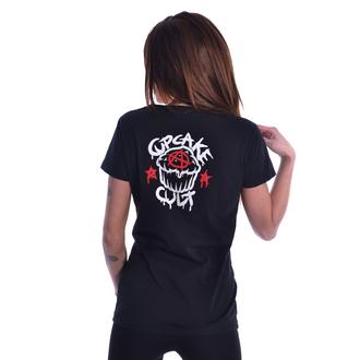 tričko dámské Cupcake Cult - BAD GIRLS - BLACK, CUPCAKE CULT
