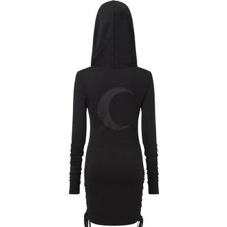 Robe aux femmes KILLSTAR - ELEANOR - NOIR, KILLSTAR
