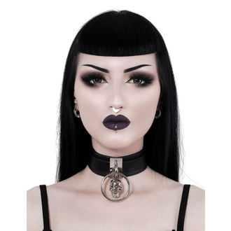 Collier KILLSTAR - Elena Skull - NOIR, KILLSTAR
