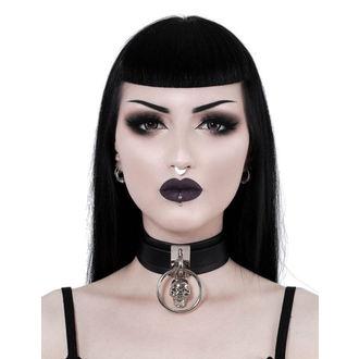 Collier KILLSTAR - Elena Skull - NOIR, KILLSTAR