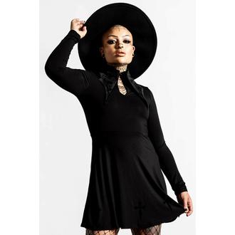 Robe pour femme KILLSTAR - Élissabat Collar - Noir, KILLSTAR