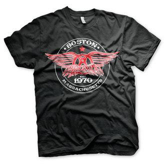 tee-shirt métal pour hommes Aerosmith - Est. 1970, Boston - HYBRIS, HYBRIS, Aerosmith