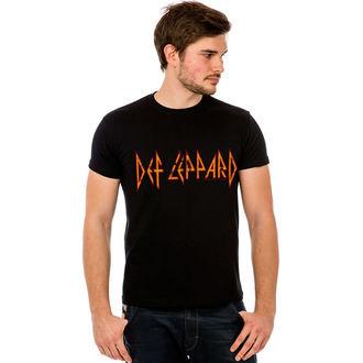 tee-shirt pour hommes Def Leppard - Classic Logo, HYBRIS, Def Leppard