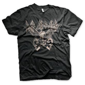 tee-shirt métal pour hommes Def Leppard - Flying Skulls - HYBRIS, HYBRIS, Def Leppard