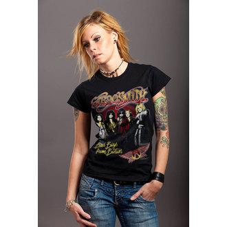 tee-shirt métal pour femmes Aerosmith - Band - HYBRIS, HYBRIS, Aerosmith