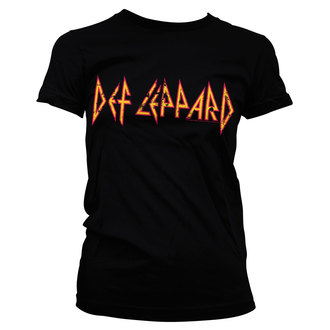 tee-shirt métal pour femmes Def Leppard - Distressed - HYBRIS, HYBRIS, Def Leppard