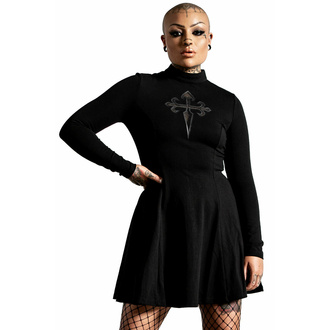Robe pour femme KILLSTAR - Evanna Cross - Noir, KILLSTAR