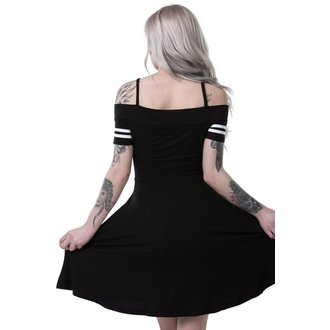 Robe femmes KILLSTAR - EXPECTATIONS BARDOT - NOIR, KILLSTAR