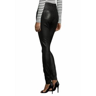 Pantalon en cuir pour femmes - GW SNVV - Noir, NNM