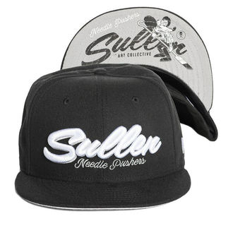 Casquette SULLEN - NEEDLE PUSHER - NOIR, SULLEN