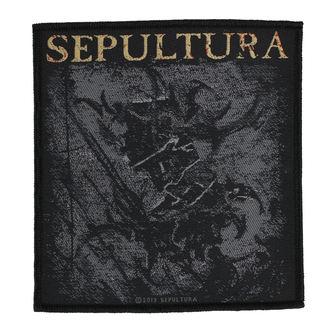 Patch  SEPULTURA - THE MEDIATOR - RAZAMATAZ, RAZAMATAZ, Sepultura