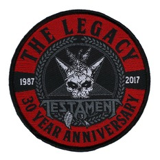 Patch TESTAMENT - THE LEGACY 30 YEAR ANNIVERSARY - RAZAMATAZ, RAZAMATAZ, Testament
