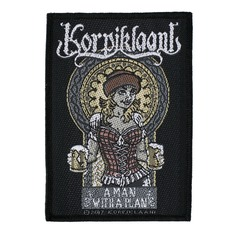 Patch KORPIKLAANI - A MAN WITH A PLAN - RAZAMATAZ, RAZAMATAZ, Korpiklaani
