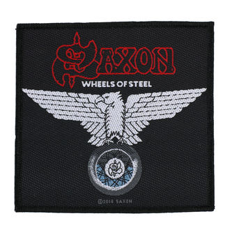 Patch SAXON - WHEELS OF STEEL - RAZAMATAZ, RAZAMATAZ, Saxon