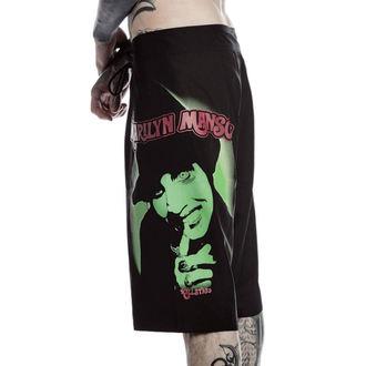 Short de bani pour hommes KILLSTAR - Marilyn Manson - Fiend - Noir, KILLSTAR, Marilyn Manson