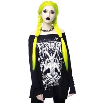 T-shirt à manches longues pour femmes KILLSTAR - Firestarter, KILLSTAR