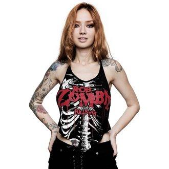 Débardeur pour femmes KILLSTAR - ROB ZOMBIE - Foxy Bones Rocker - NOIR, KILLSTAR, Rob Zombie