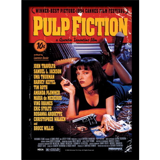Affiche Pulp Fiction - (&&string0&&) - PYRAMID POSTERS, PYRAMID POSTERS