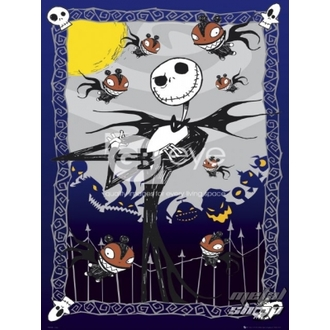 affiche - NIGHTMARE BEFORE CHRISTMAS - Glow - FP2155, NIGHTMARE BEFORE CHRISTMAS