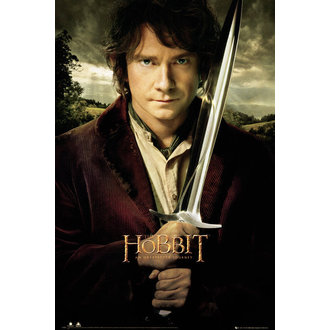 affiche The Hobit - Bilbo Sword - GB Affiches, GB posters