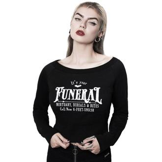 sweat-shirt sans capuche pour femmes - Funeral - KILLSTAR, KILLSTAR